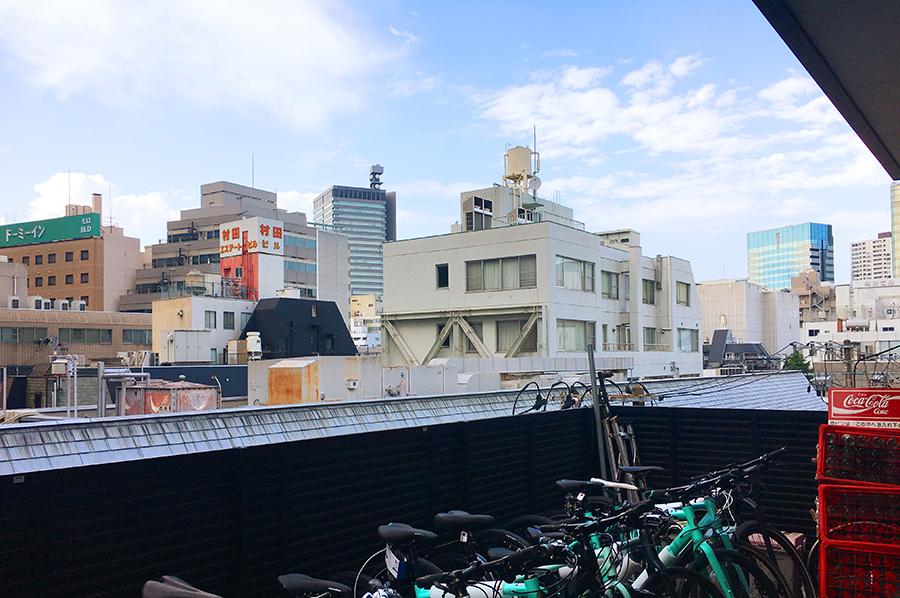 伊達バイク-ハヤサカサイクル屋上
