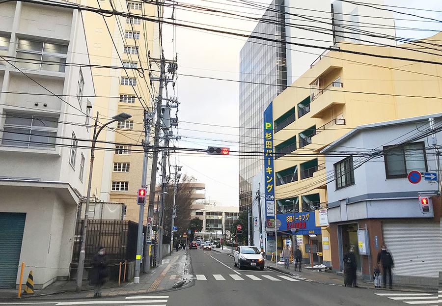 伊達バイク-ホテルセントラル仙台/セブンイレブン仙台中央四丁目店1