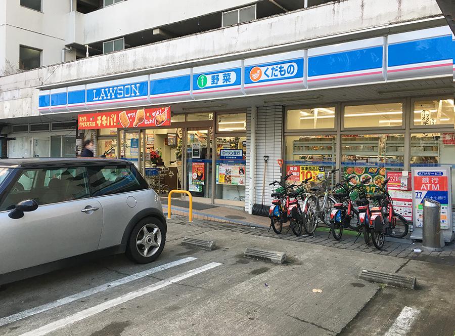伊達バイク-ローソン仙台広瀬通店1