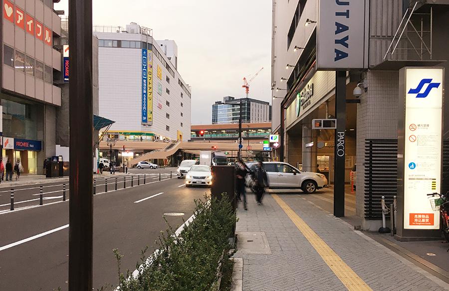 伊達バイク-地下鉄仙台駅西1出入り口2