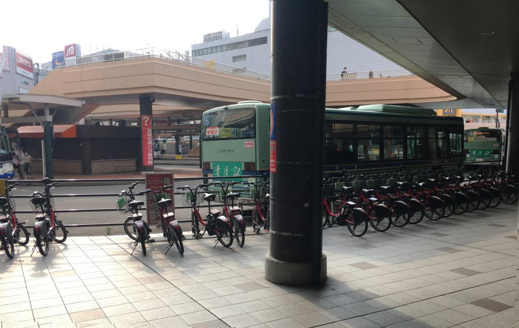 伊達バイクポート-JR仙台駅西口2