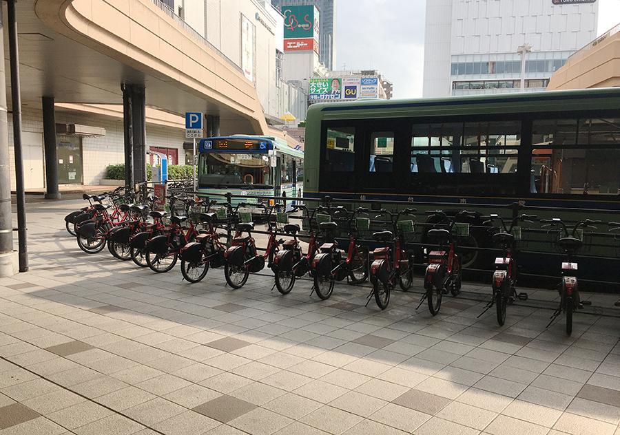 伊達バイクポート-JR仙台駅西口3
