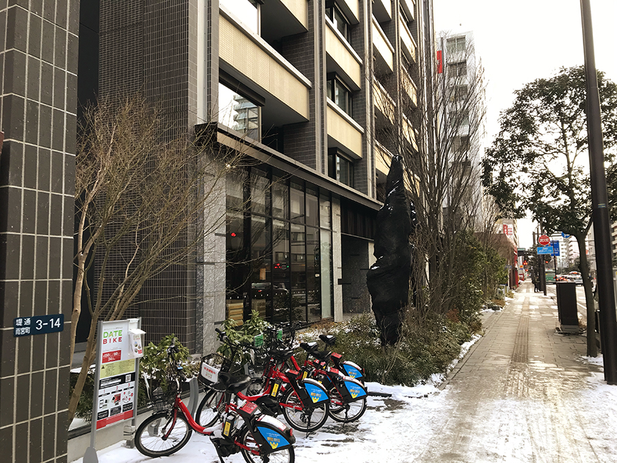 伊達バイク-プラウドタワー仙台勾当台通