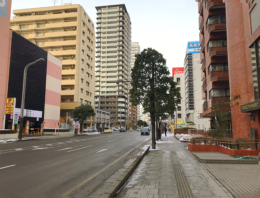 伊達バイク-プラウドタワー仙台勾当台通3