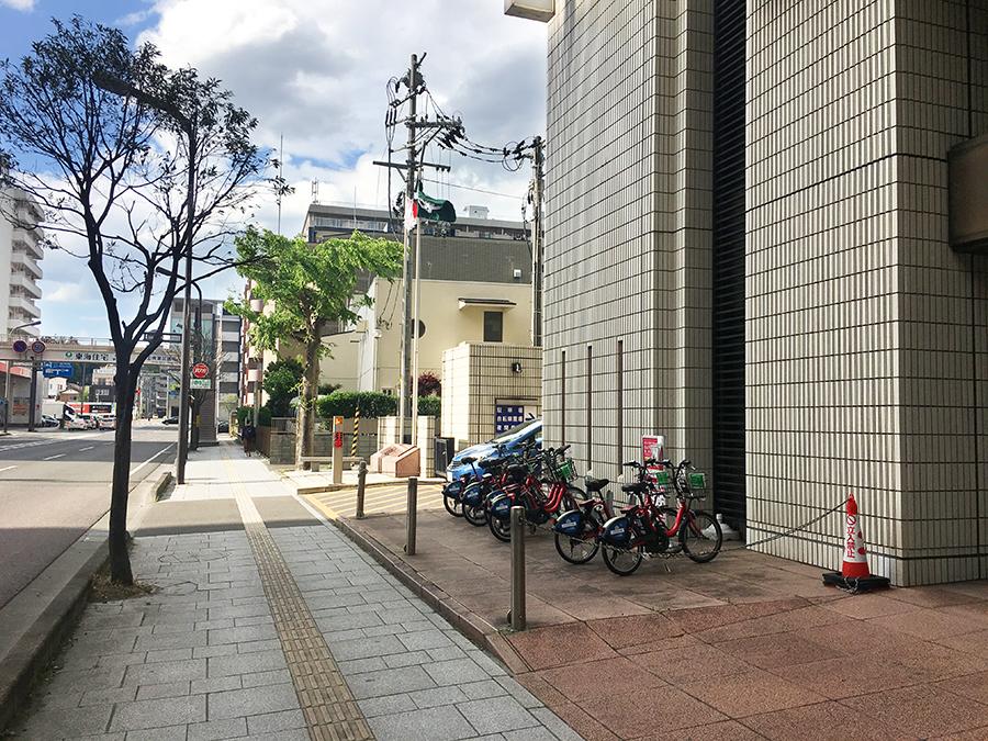 伊達バイク-仙台合同庁舎4
