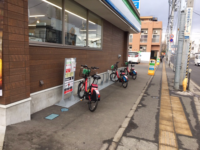 伊達バイク-ファミリーマート宮町四丁目店2