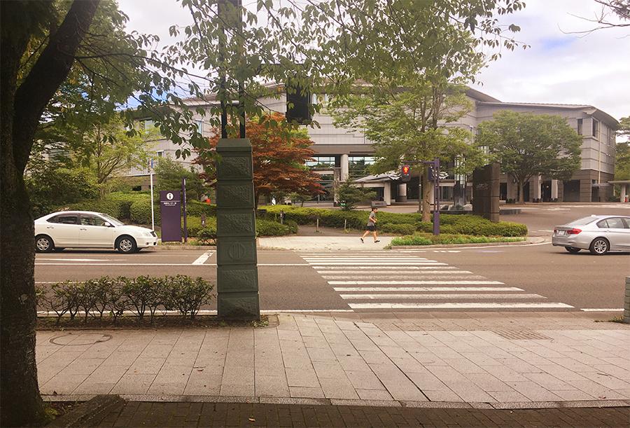 伊達バイク-博物館・国際センター前