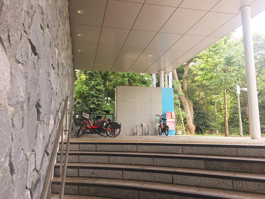 伊達バイク-地下鉄国際センター駅4