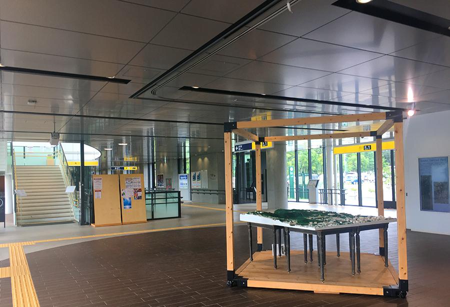 伊達バイク-地下鉄国際センター駅5