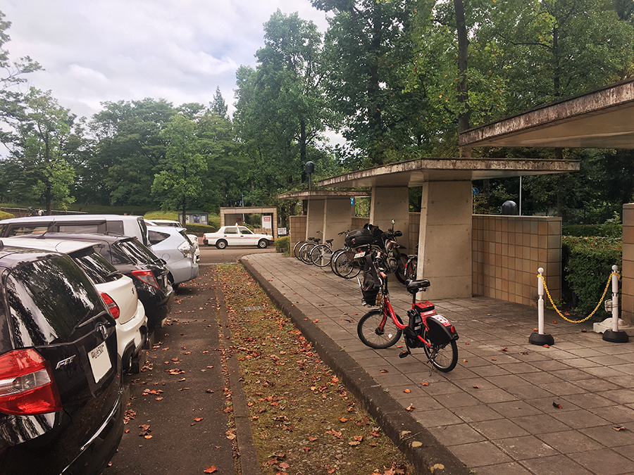 伊達バイク-宮城県美術館3