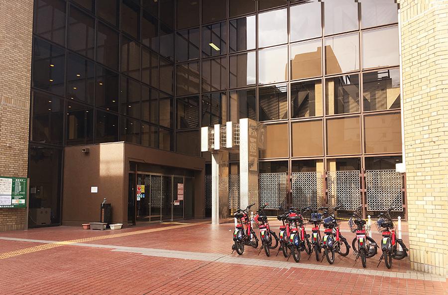 伊達バイク-戦災復興記念館2