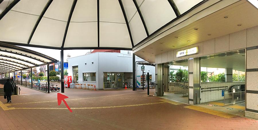 伊達バイク-長町駅西口2