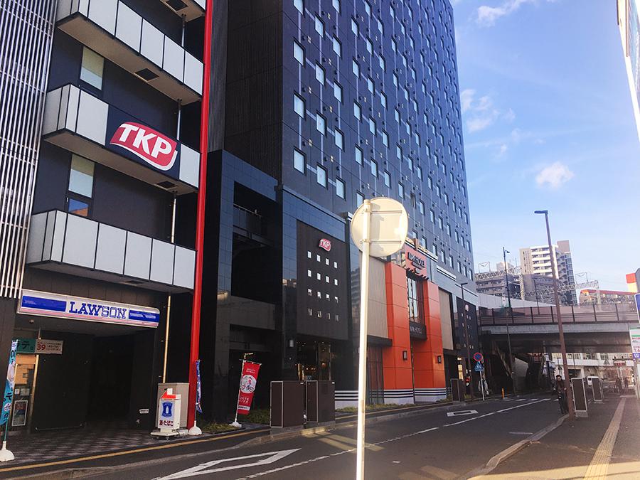 伊達バイク-アパホテルTKP仙台駅北