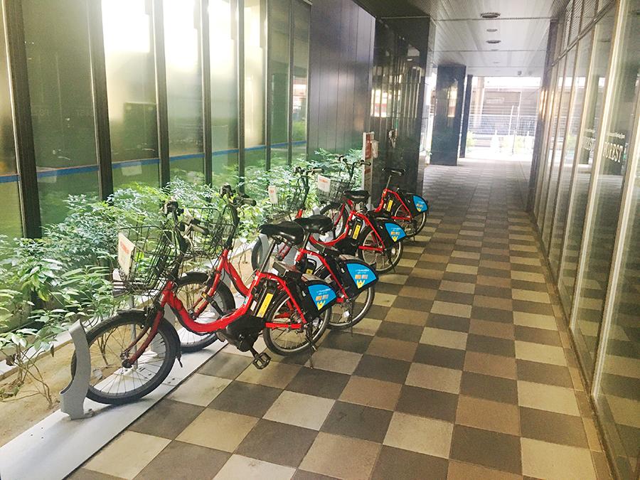 伊達バイク-アパホテルTKP仙台駅北2